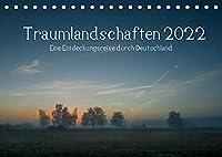 Traumlandschaften 2022 (Tischkalender 2022 DIN A5 quer): Eine Entdeckungsreise durch Deutschland (Monatskalender, 14 Seiten )