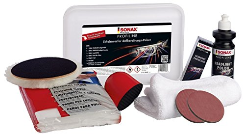 SONAX 405841 Profiline Scheinwerfer Aufbereitungs-Paket