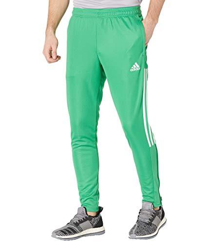 adidas Mens Tiro Track Pants Vivid Green/White Small