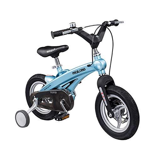 YQ Bicicleta De Bicicleta De Montaña para Niños Y Niñas Magnesium Alloy...