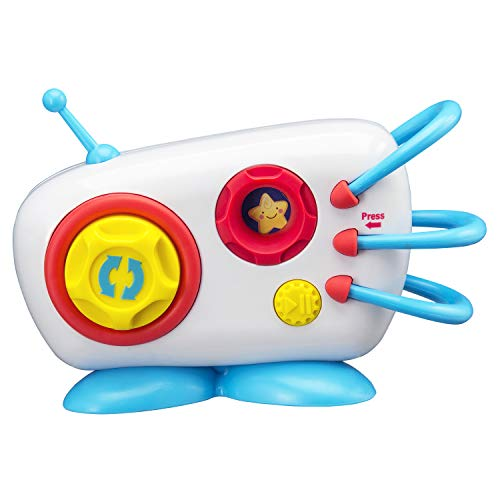 eKids Mother Goose Club Mini Boom Box Toy 7 Favorite Kids Songs Built in Silly Sound Effects & More Fun Easy to Use or Present