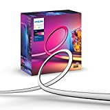 Philips Hue Play Gradient Lightstrip Tira Inteligente LED, 20 W, Luz Blanca y Colores, 65 Pulgadas