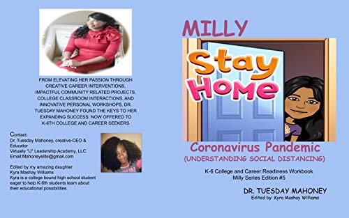 Milly Stay Home Coronavirus Pandemic: Understanding Social Distancing for K-6 (Milly Series Book 5) (English Edition)
