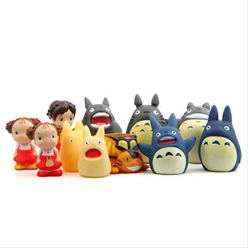 BLTR Suave Favor Cuento de Hadas del bebé Juguetes for niños Totoro Lindo de la Historieta del Dedo Marionetas de los Juguetes del bebé del niño de Las muñecas Totoro Precioso Natural
