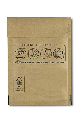 Bankers Box 10 Sobre Bolsa Acolchado de Burbujas 180x160mm (CD) Para Protección de Envíos