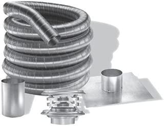 3'' DuraFlexAL 35' Aluminum Chimney Liner Kit - 3DFA-35K