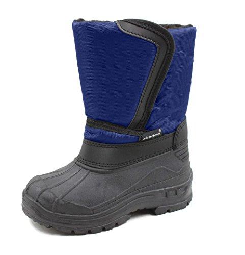 SkaDoo Kids Snow Boots Navy