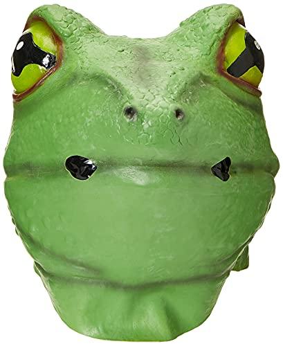Forum Novelties Adult Deluxe Latex Animal Costume Mask - Frog