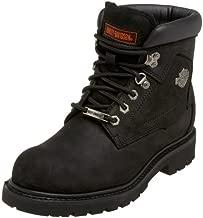 Harley-Davidson Men's Badlands Motorcycle Boot,Black,12 2E US