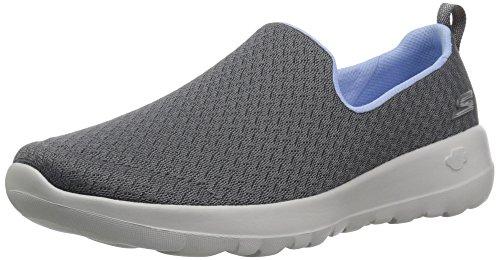 Price comparison product image Skechers Women's GO Walk Joy Rejoice Sneaker,  Charcoal / Blue,  9.5 M US