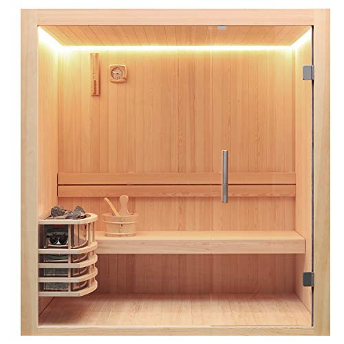 AWT Sauna E1803C Pinienholz/120x120/6kW Vega