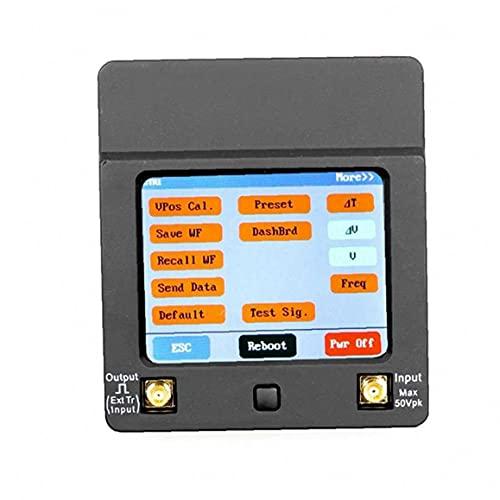 Mini osciloscopio digital portátil de mano osciloscopio de almacenamiento Mini Almacenamiento osciloscopio Kit Negro, osciloscopio