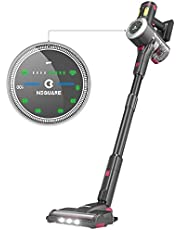 NEQUARE Cordless Vacuum Cleaner, Stick Vacuum Cleaner with 26Kpa Powerful Suction 40min Runtime, LED Display, 9 Gears Adjustable Suction Lightweight Handheld Vacuum for Car Pet Hair Carpet Hard Floor S26