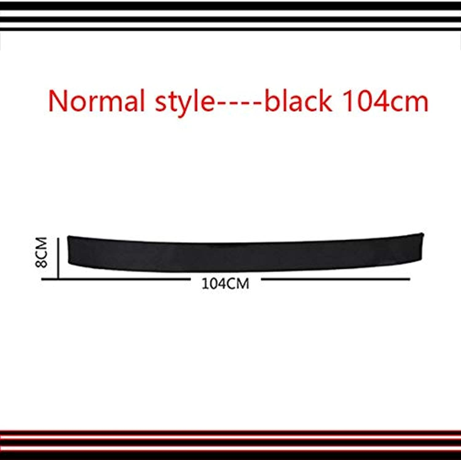 Auto Car Door Sill Plate Rear Guard Predector for Lada Toyota Cgoldlla chr Avensis RAV4 Auris Honda Civic  (color Name  5)
