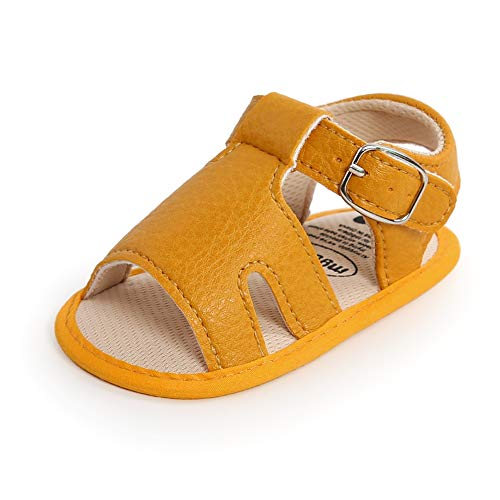 Sandalias Niños PU Zapatos de Verano Sandalias para Bebés Zapatos casuales antideslizantes Suela suave