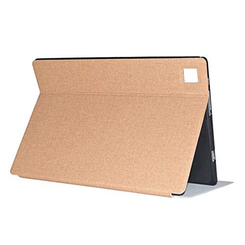 Fransande Funda para tablet Teclast M40 P20HD de 10,1 pulgadas, con función atril, color dorado