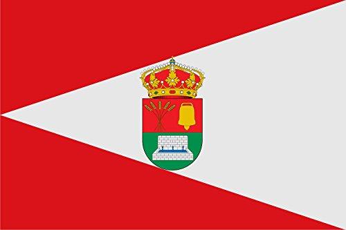 magFlags Bandera Large Municipio de Villarmayor Salamanca | Bandera Paisaje | 1.35m² | 90x150cm