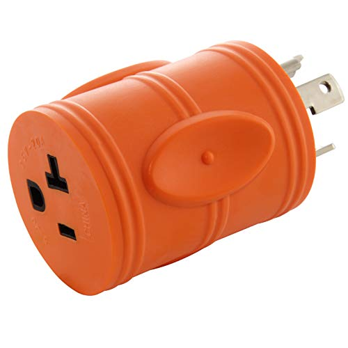 AC WORKS Shore Power Adapters (L5-30 30A Locking to 15/20A Household)