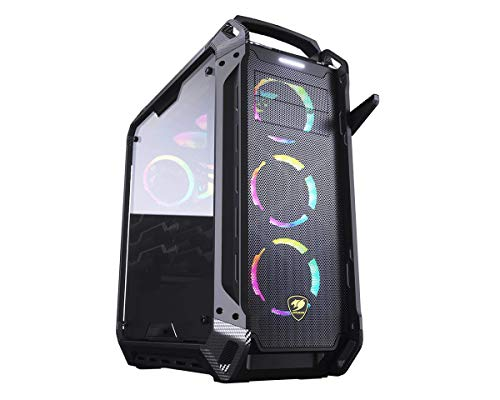 Cougar Panzer Max-G Full Tower Gaming Case with a Full-Sized Tempered Glass Panel (2019 Version)