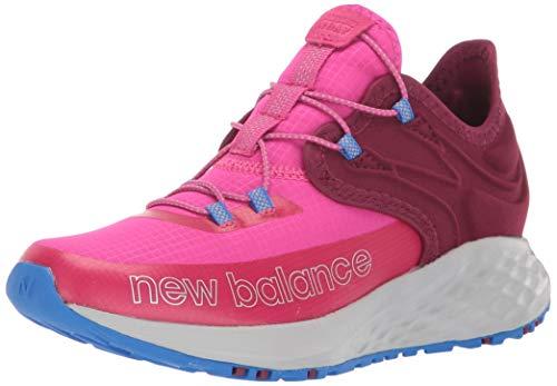 New Balance Kid's Fresh Foam Trail Roav V1 Bungee Running Shoe, Carnival/Sedona, 1.5 W US Little Kid