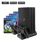 [Verbessert Ausführung] ieGeek Vertical Stand für PS4