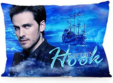 DoubleUSA Once Upon A Time Captain Hook Pillowcases Both Sides Print Zipper Pillow Covers 20 product image
