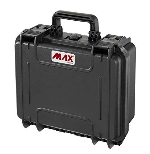 Max Cases - valigetta Vuota a Tenuta Stagna, Ermetica per Trasportare e Proteggere Apparecchiature e Materiali Sensibili, MAX300V, Dimensioni Interne 300 x 225 x 132 mm