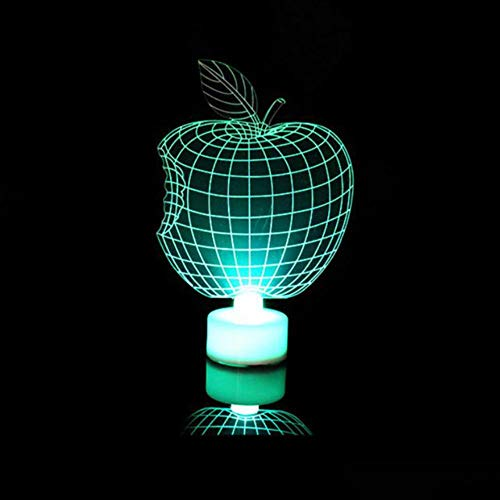 Kids 3D LED Night Lamp Santa Cla Bedroom Decoration Snowman Towel Christmas Tree Flash Light Wedding Party Gifts Colorful F