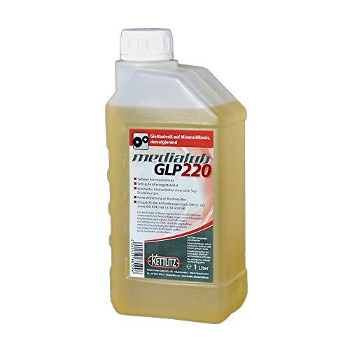 2 x 1 Liter KETTLITZ-Medialub GLP220 - Gleitbahnöl, Bettbahnöl ISO-VG 220