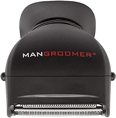 MANGROOMER - Back Hair Shaver Replacement Complete Attachment Head with Shock Absorber Neck and Smooth Shaving Foil