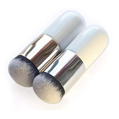 Pinceaux de maquillage, pinceau de maquillage, pinceau de fond de teint surdimensionné, facile à appliquer, poudre facile à appliquer, facile à transporter Idéal pour un usage professionnel et quotidi