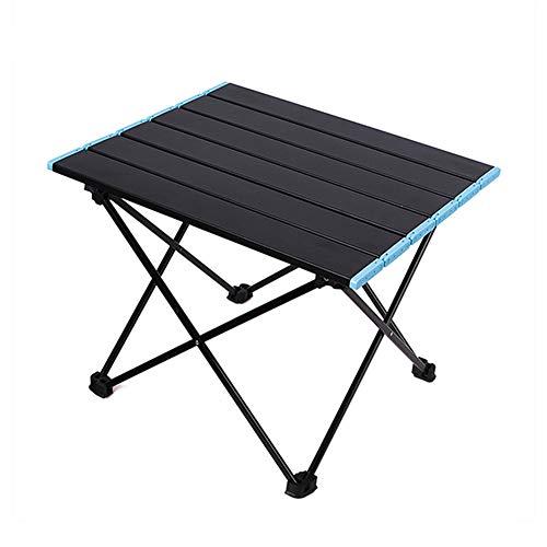 TZTED Mesa de Picnic Plegable Portátil para Barbacoa, Plegable Mesa de Jardín Mesa de Trabajo Mesa de Balcón Aluminio, con Bolsa,M