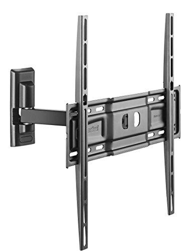 Meliconi CME ER400 - Supporto da parete con braccio Per TV 40  - 55 , Portata Max 25 Kg, Vesa 200 - 300 - 400 mm