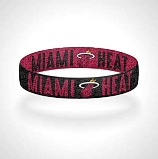Reversible Miami-Heat Bracelet Wristband