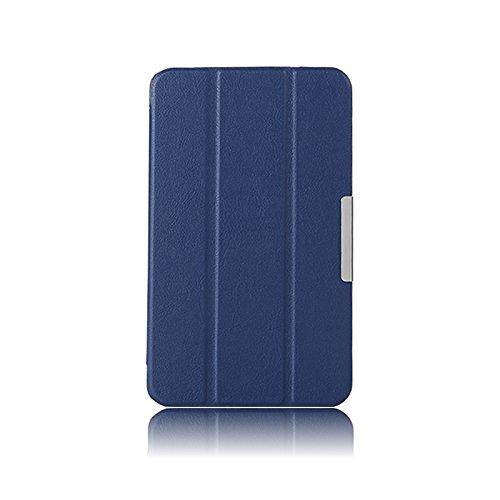 Asng G PAD 8.3 Case - Ultra Slim Lightweight Standing Cover for G Pad 8.3 V500 / V510 / Verizon 4G LTE 8.3-Inch Tablet (Drak Blue)