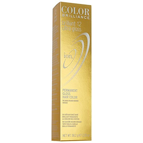 Ion Color Brilliance Brilliant 12 Ultra Gloss 3G Dark Golden Brown by Ion
