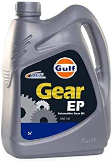 GULF EP Gear Oil 140. Heavy Duty Automotive Gearbox Oil