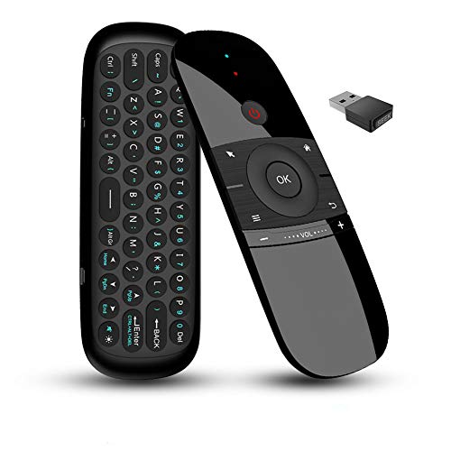 Air Mouse Remote,2.4GHz Portable Wireless Mouse and Keyboard,Suitable for TV Box, Smart TV, PC,...