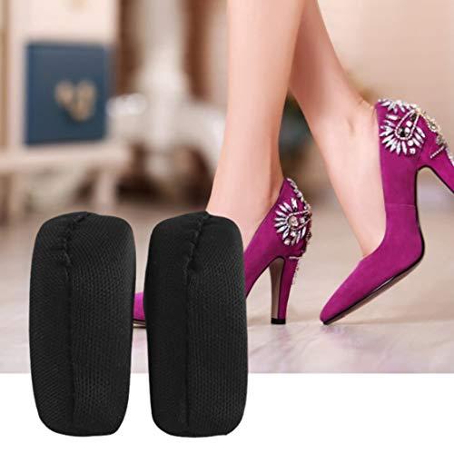 Jessicadaphne Chaussures à talons hauts Éponge de chaussure Semelle anti-douleur Éponge anti-douleur Embout d'orteil Bouchon d'orteil Ajuster Chaussures Accessoires