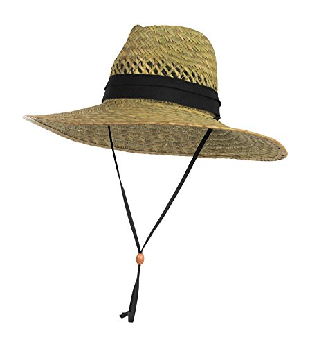 18% off a vented straw sun hat to stay protected while gardening