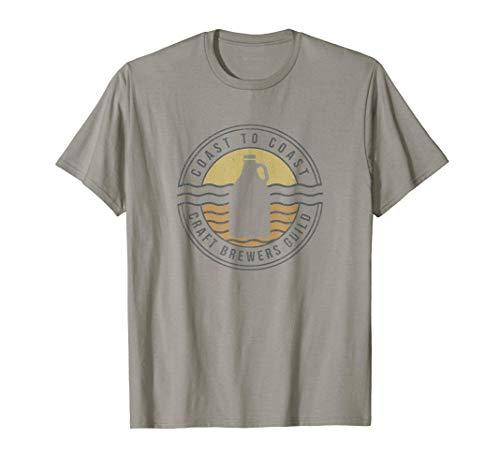 Coast To Coast Craft Brewers Guild Camiseta