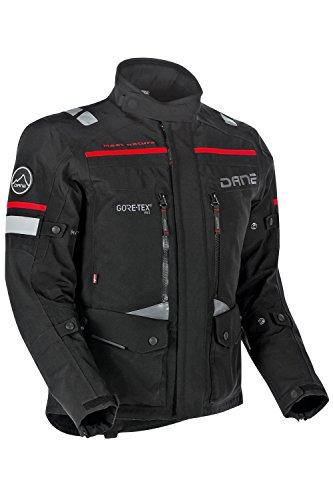 Dane SEALAND GORE-TEX® Pro Motorradjacke Farbe schwarz, Größe 50