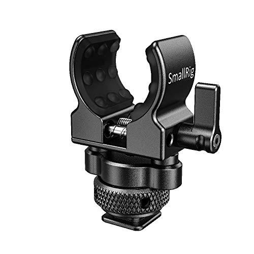 SMALLRIG Mikrofon Mount, Shotgun Mikrofonständermit Cold Shoe Adapter - BSM2352