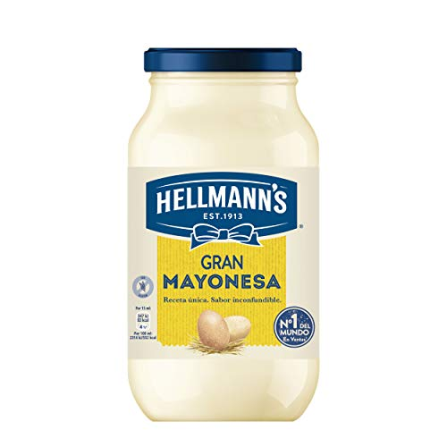 Hellmann's Mayonesa Tarro 450 ml (pack de 4)