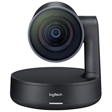 Logitech 960-001226 Rally - Conference camera - PTZ - color - 3840 x 2160-1080p, 4K - motorized - USB 3.0 - H.264 (Renewed)