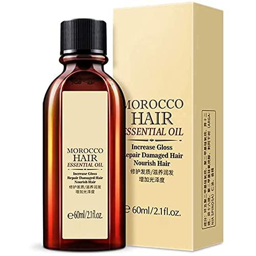 Hidratante multifuncional para el cabello y el cuero cabelludo, aceite de argán puro para el cuidado del cabello queratina glicerol aceite de nueces mascarilla para el cabello para peluquería esencial