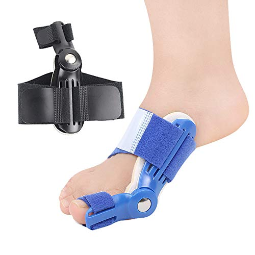 GDWOW Teenorthese, Nylon Materiaal Verstelbare Orthopedische Afscheiders Corrector Pantoffels, Voor Schoenen Pijnstilling Grote Teenbeschermers, Soepele Beweging En Duurzaam (5 Stuks)