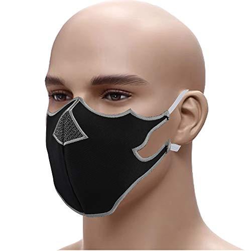 Spartanaer-☆Mundschutz☆-Sparta-Helm-Schutzmaske-➤-Mehrweg-Maske-Gesichtsmaske➤Stickerei-60°-waschbar-Face-MaskStaubschutz