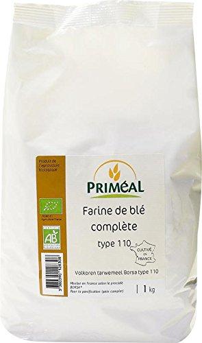 Priméal Farine de Blé France T110 1 kg