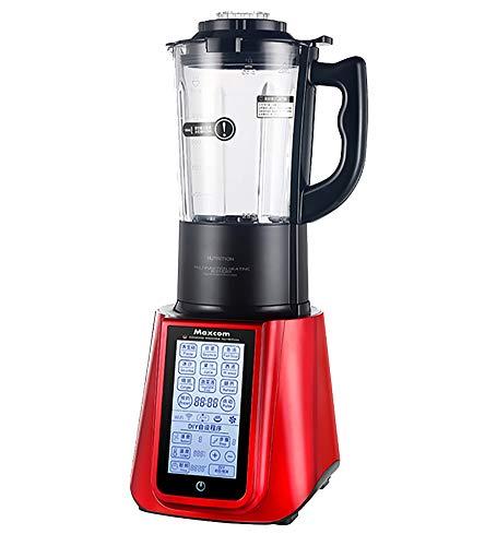 ALK Licuadoras para Verduras y Frutas, Extractor de Jugos Libre de BPA, con Base Antideslizante, 35000rmp (1.2L),Rojo